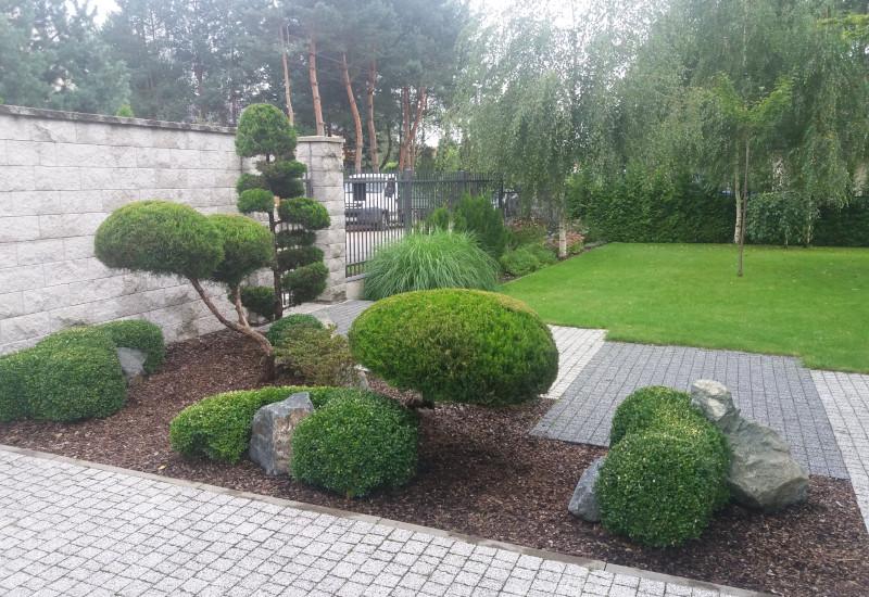 Realizacja Ogrody Quercus Mariusz Mączyński